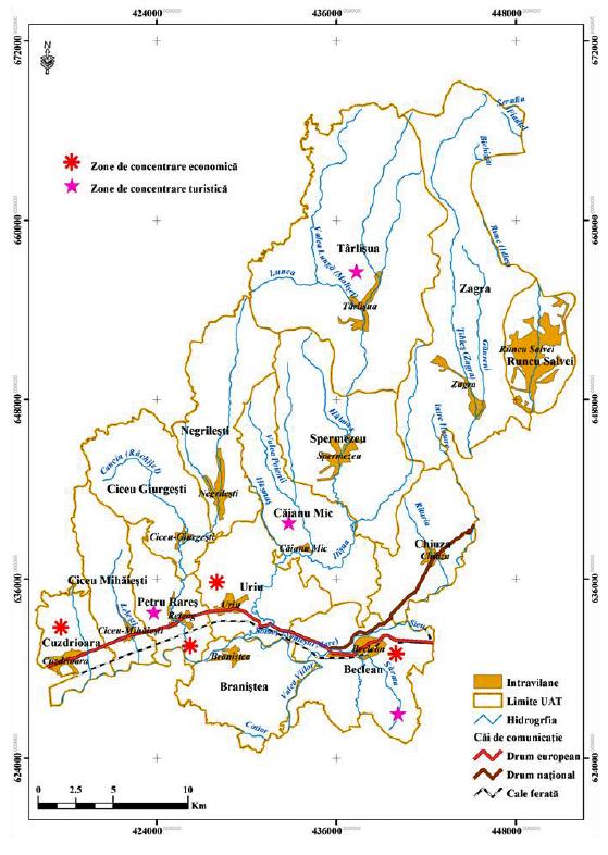 Teritoriu GAL Ținutul Haiducilor